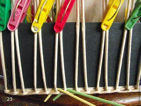 Осваиваем азы плетения из бумаги. Часть первая - Сам себе волшебник