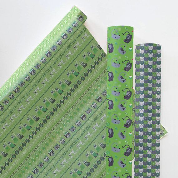 With its fun bold design this printable gift wrap is sure to delight your loved ones. Easy to make on your home computer and printer.  THIS ITEM