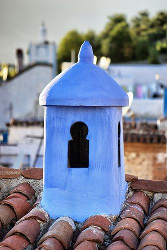 Blue Chimney, Chefchaouen - Morocco