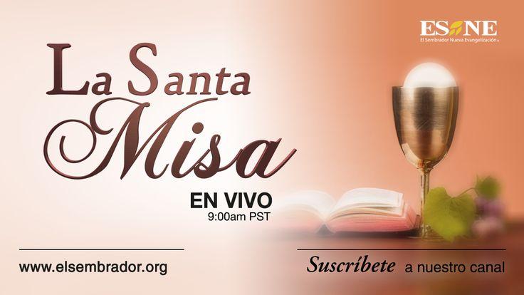 Te invitamos a participar de #LaSantaMisa.   EN VIVO    https://www.youtube.com/watch?feature=player_embedded&v=OU_Cy-fuFY8