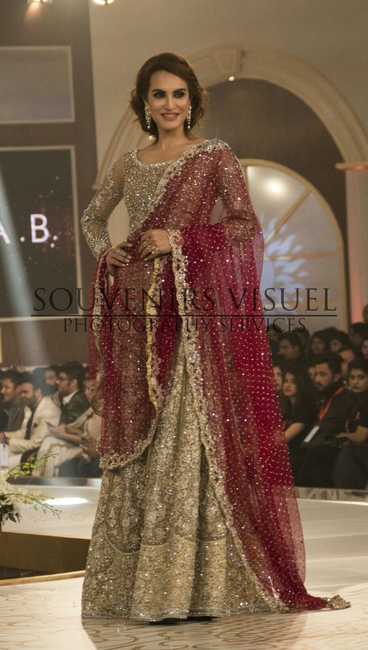 Souvénirs Visuél (@souvenirsvisuel) our official event photographers for Telenor Bridal Couture Week Day 2 #TBCW2015 #pakistaniweddings #bridal #couture