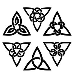 Celtic trinity knot set vector                                                                                                                                                                                 More