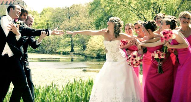 Ideen für Hochzeitsspiele für Brautpaar und Gäste
