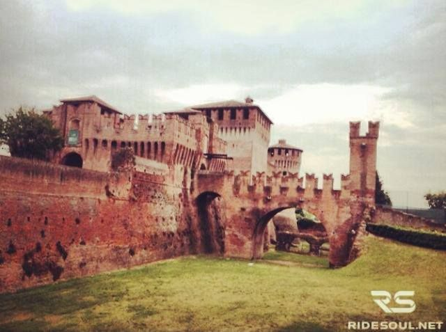 The castle of Soncino! #motorcycle #tour #italy