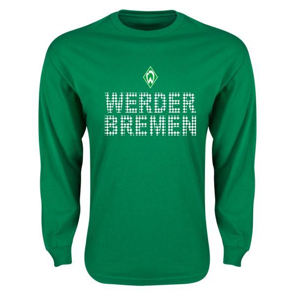 Werder Bremen Pattern LS T-Shirt