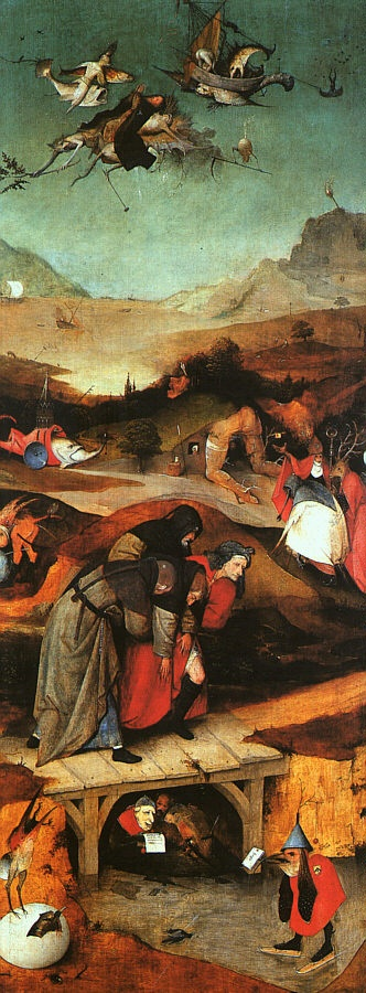 Hieronymus Bosch - it might be cool to have some subtle Boschean elements within an otherwise peaceful fantasy landscape