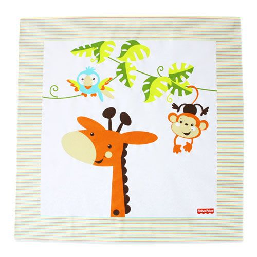 The Fisher Price My Animal Friends Splash Mat is ideal for use either in the bathroom or in the kitchen during that messy feeding time and my Animal Splash Mat protects your floors and surfaces from any spills and it is also very easy to wipe clean.  http://www.babysecurity.co.uk/fisher-price-my-animal-friends-splash-mat.html