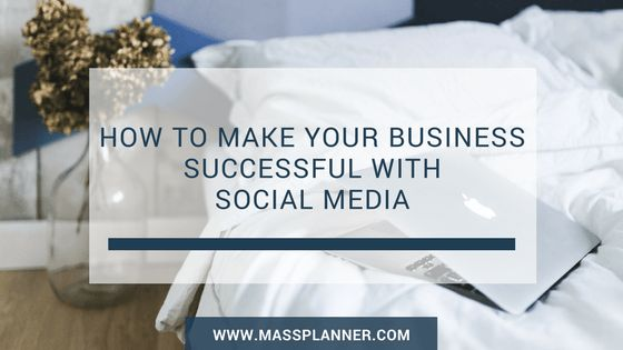 How To Make Your Business Successful With Social Media  Social media is an essential tool for any business in the modern world. However, as with any tool, it must be used in the correct manner if it is to work well. You have to get to know your audience and what they are looking for. Here are some effective ways to promote your business …   The post  How To Make Your Business Successful With Social Media  appeared first on  Mass Planner .  http://www.massplanner.com/make-business-s..