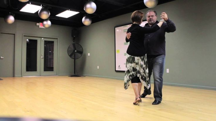 Linked Turn in Vals (Waltz) with Clint and Shelley