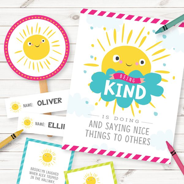 Primary Sharing Time 2017: Being Kind is Doing and Saying Nice Things to Others (July Week 2)