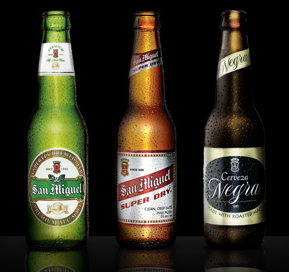 God I miss San Miguel Beer...  San Miguel Beer Premium and Cerveza Negra are two of my favourite beers from the Philippines.
