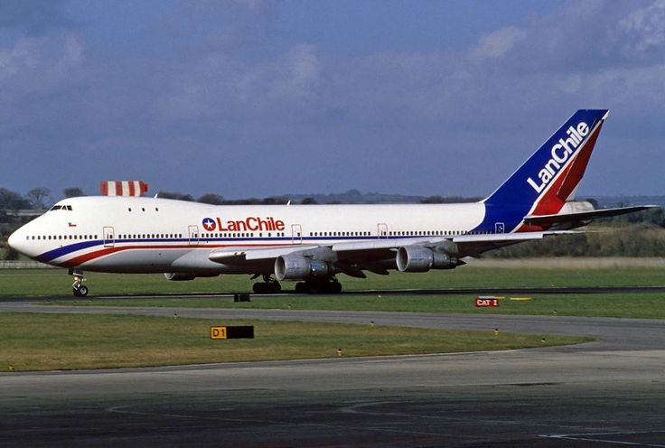 LAN Chile Boeing 747