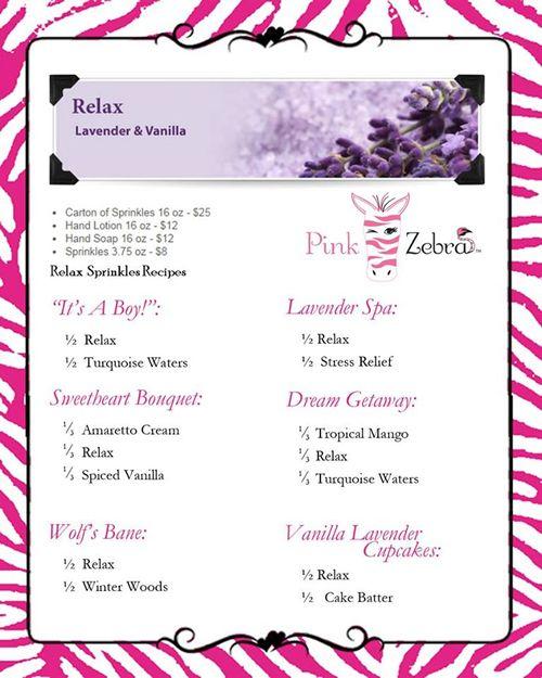 pink zebra recipe - Google Search