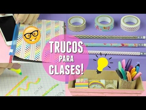 9 TRUCOS ESENCIALES PARA IR A CLASES | What The Chic - YouTube