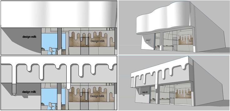 AAU Students Envision What a Design Milk Office Might Look Like #interiors