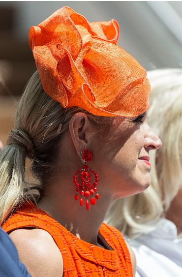 Queen Maxima, June 12, 2015 in Fabienne Delvigne | Royal Hats