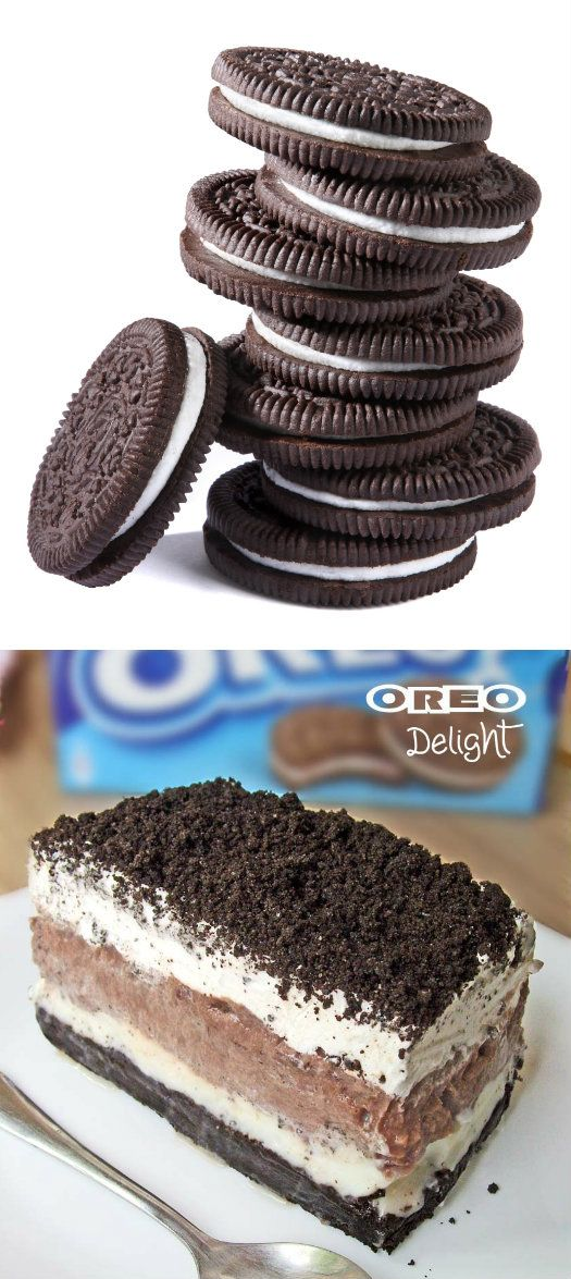 Oreo Delight With Pudding