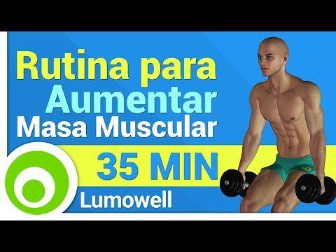 Rutina para Aumentar Masa Muscular - YouTube