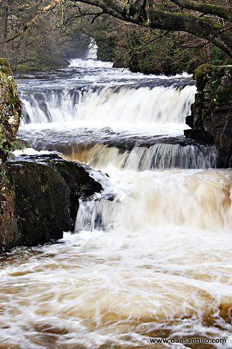 Horseshoe Falls, Brecon Beacons National Park
