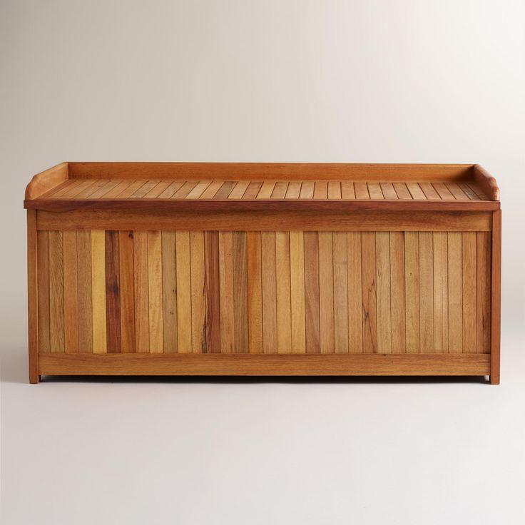 Wood Outdoor Storage BoxBest 25  Outdoor storage boxes ideas on Pinterest   Outdoor  . Outside Storage Boxes Wooden. Home Design Ideas