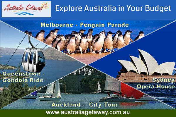 # Explore Australia in Your Budget Australia Getaway offers low budget ‪#‎Australia‬ ‪#‎Holiday‬ packages. Log on to http://www.australiagetaway.com.au/ for our packages and tour options...