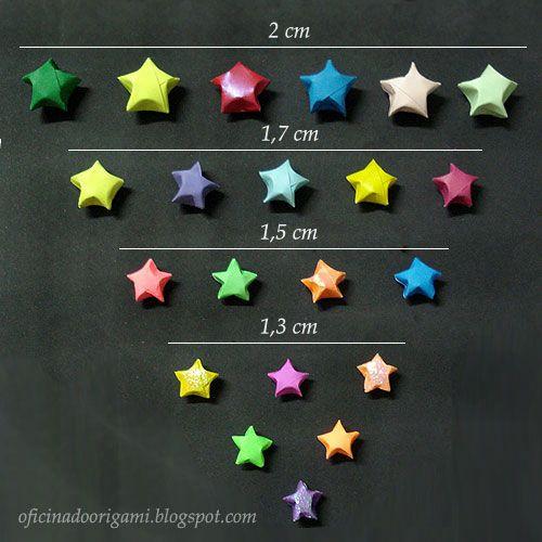 Oficina do Origami: Estrela ou estrelinhas da sorte (Lucky star)
