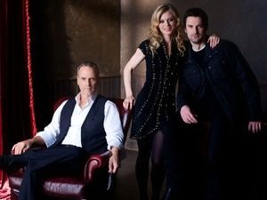 Silent Witness cast Harry Cunningham [TOM WARD], Nikki Alexander [EMILIA FOX], Leo Dalton [WILLIAM GAMINARA]