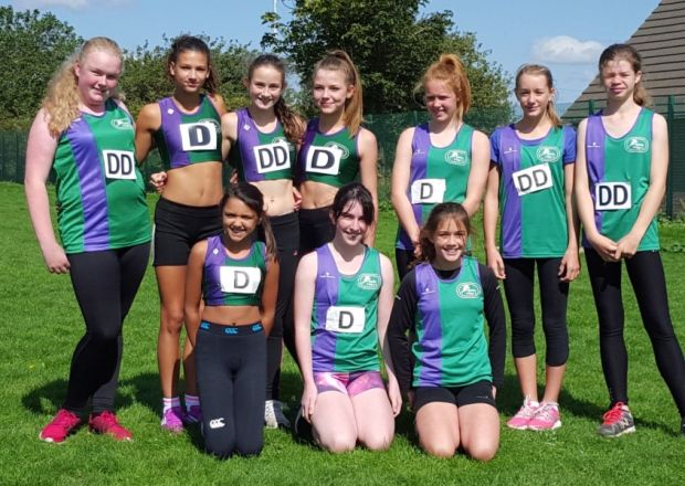 Dacorum & Tring AC youngsters finish with a real flourish