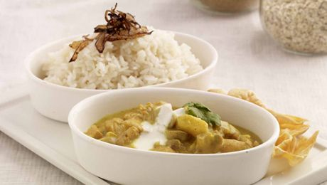 Chicken Curry with a side of Rice