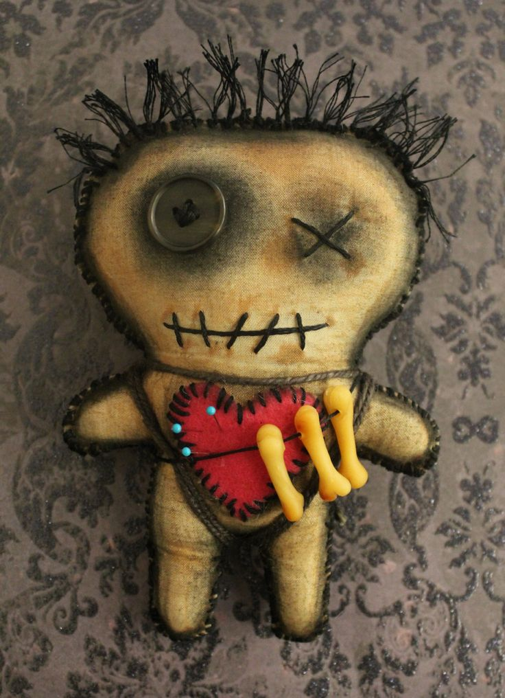 Coolest Homemade Voodoo Doll Costumes