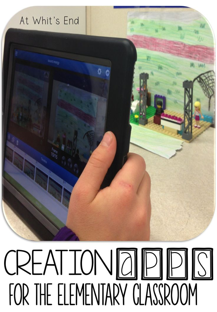 Creation Apps for the upper Elementary Classroom