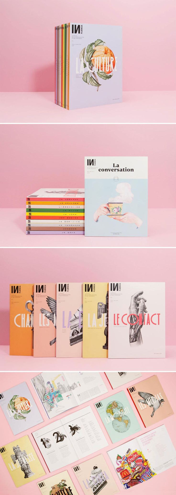 INfluencia - a serie of covers   Violaine & Jérémy