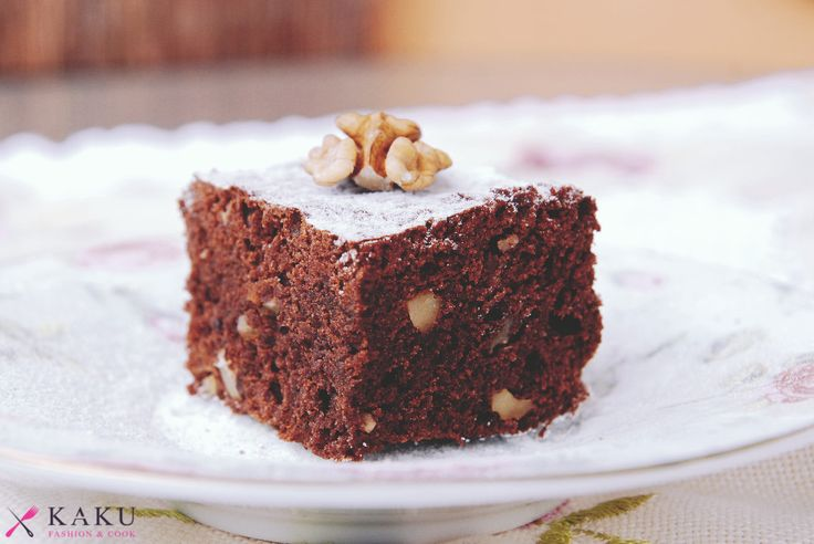 Brownie z orzechami KAKU fashion cook / brownie with nuts
