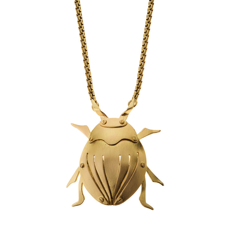 Naszyjnik   Insekty IN38-1   ORSKA - ręcznie wykonana, unikatowa biżuteria…
