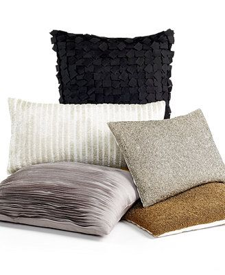Donna Karan Home Decorative Pillow Collection Home is where the Heart Is! Pinterest Shops ...