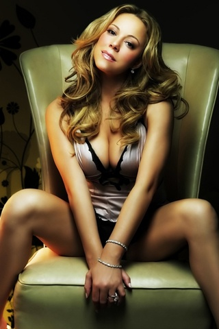 Mariah Carey  -- I want to do a pose like this in a photo shoot.. after weight loss