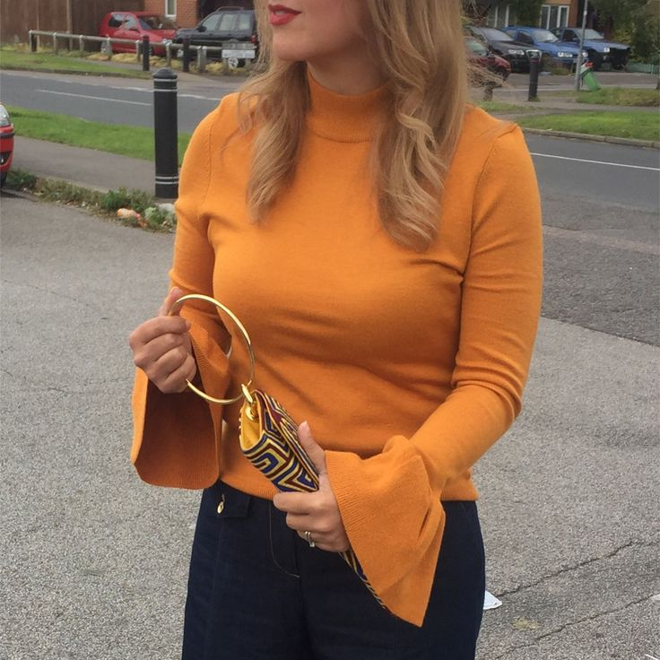 Fall style/ mustard yellow/ mola clutch /