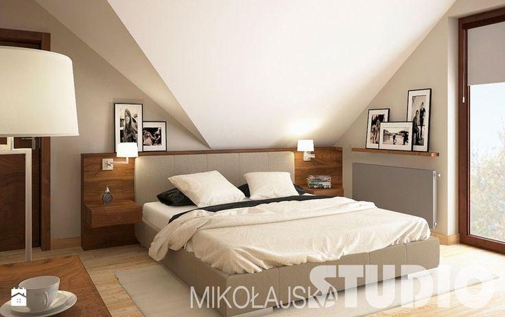 Tradycyjna sypialnia Sypialnia - zdjęcie od MIKOŁAJSKAstudio