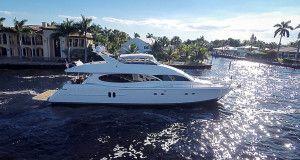 Charter Yacht – 80′ Lazzara SWEETWATER