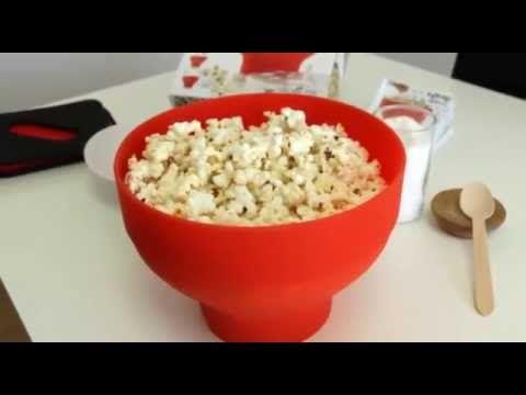 Lékué Popcorn Maker til mikroovn #inspirationdk #køkken #køkkenudstyr