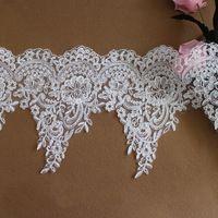 Мутил функция вышивка дизайн сетчатая ткань шнур кружево отделка границы кружево обрезки