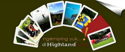 Highland Indonesia for your camping and Outbound