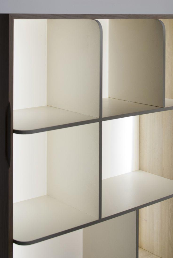 挪威设计师Stine Knudsen Aas的隐——禅意储物柜   中国元素网