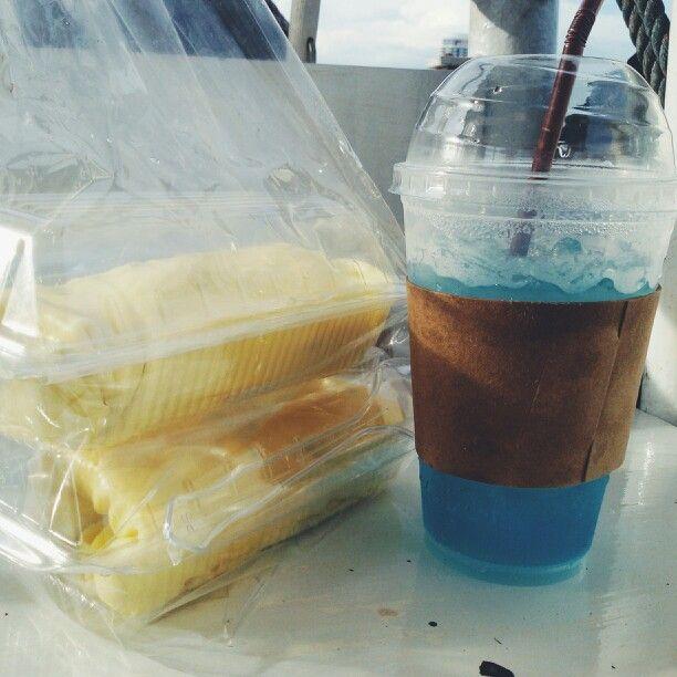 Blue Hawaii soda/art coffee