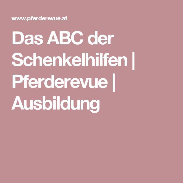 Das ABC der Schenkelhilfen | Pferderevue | Ausbildung
