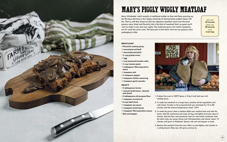 Get These Recipes And More From Supernatural The Official Cookbook From Insight Editions Insighteditions Com Stream New E Cookbook Recipes Recipes Game Food