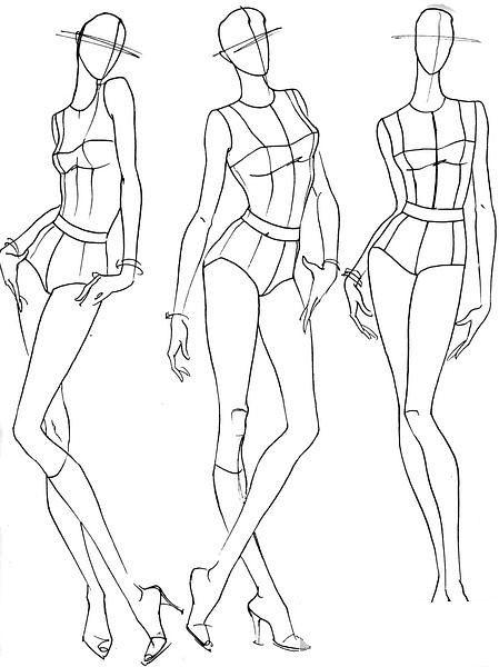 【服装设计必备】人体动态                                                                                                                                                     Plus