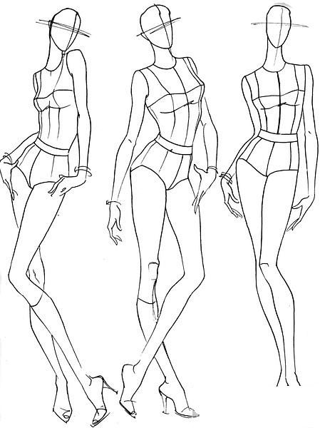 【服装设计必备】人体动态                                                       …