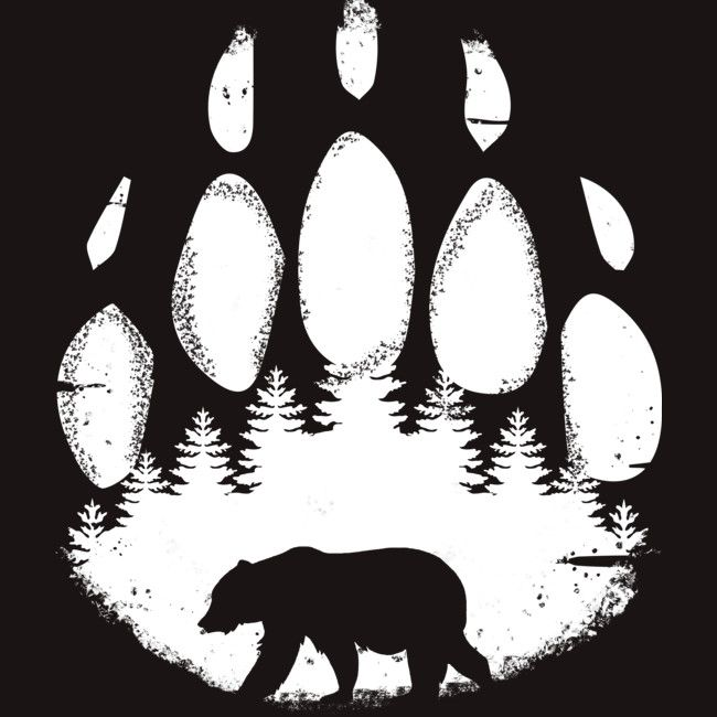Silhouette Bear Isolated On White Background Stock Photo Bear Silhouette Silhouette Stencil Bear Images