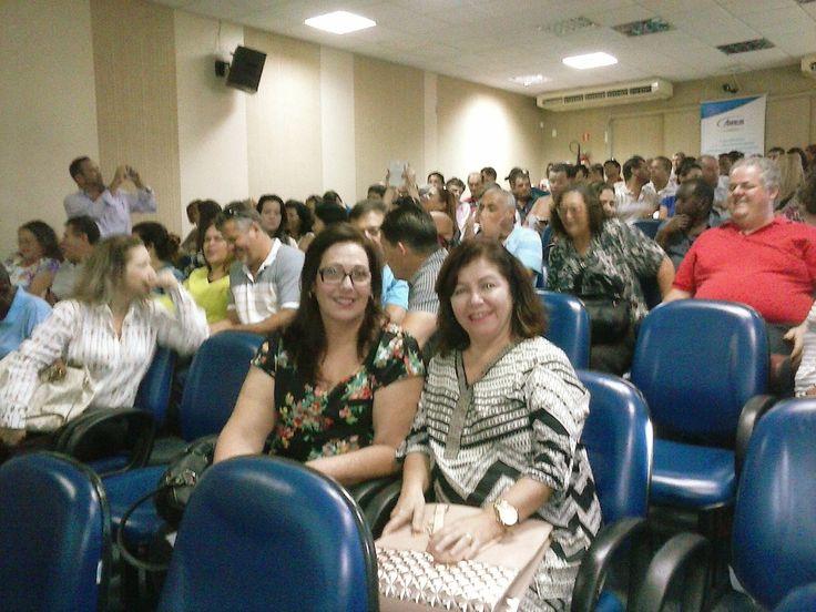03/07/2015 - na plateia do evento em Serra, Roxanne e Aldete, de Vila Velha, ES